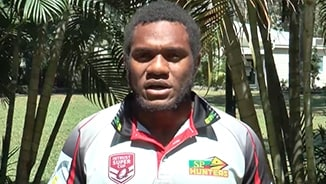 PNG Hunters players want you at school