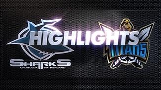 Sharks v Titans Rd 1 (Highlights)
