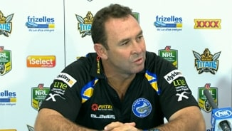Rd 6: Press Conference Eels