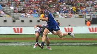 Auckland Nines: Knights v Cowboys