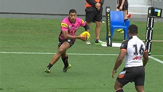 Auckland Nines: Panthers v Wests Tigers