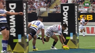 Auckland Nines: Warriors v Bulldogs