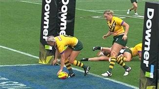 Auckland Nines Women G1: Kiwi Ferns v Jillaroos