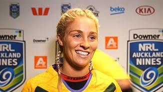 A9s - Day 1 - Womens G1 - Jillaroos - Post Match: Ferguson