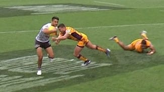 Auckland Nines: Warriors v Broncos