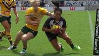 Auckland Nines Women G2: Kiwi Ferns v Jillaroos