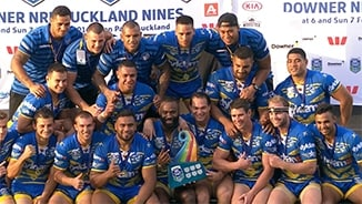 Auckland Nines GF: Warriors v Eels