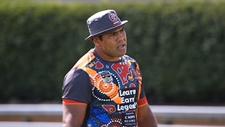 NRL All Stars hit the training paddock