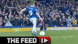 Everton Fan Wins Goal of the Month!