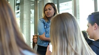 Jess Mauboy attends Youth Summit