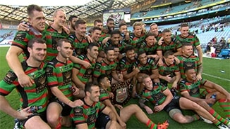 Charity Shield: Rabbitohs v Dragons (Hls)
