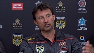 Indigenous All Stars Press Conference