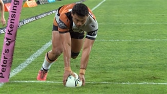 Rd 9: Rabbitohs v Wests Tigers (Hls)