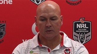 Rd 9 Press Conference: Dragons