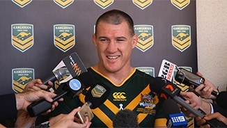 Kangaroos Media: Paul Gallen
