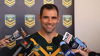 Kangaroos Media: Cameron Smith