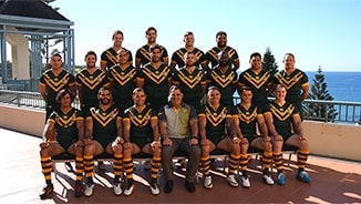 Kangaroos assemble for team photo
