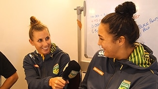 Jillaroos Hit the Mic