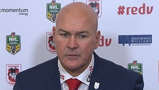 Rd 12 Press Conference: Dragons