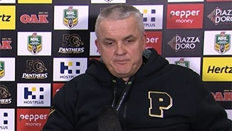 Rd 16 Press Conference: Panthers