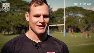 QLD Rangers - Trent Richardson interview
