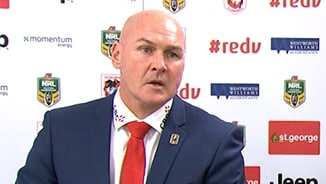 Rd 20 Press Conference: Dragons