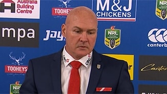 Rd 21 Press Conference: Dragons