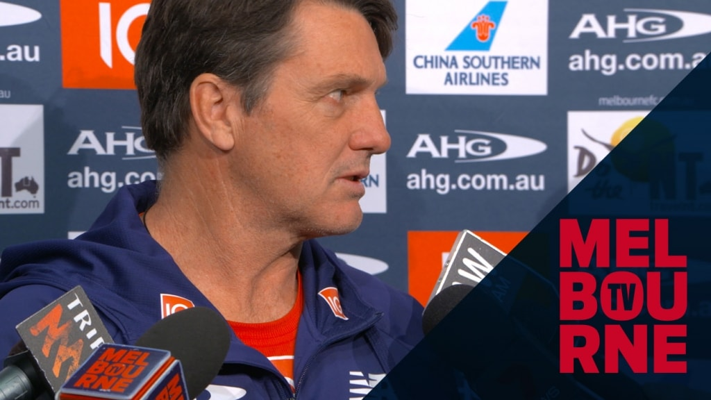 Media conference: Roos on future of club