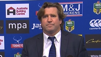 Rd 25 Press Conference: Bulldogs