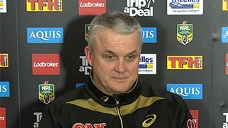 Rd 25 Press Conference: Panthers