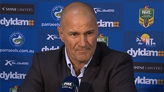Rd 25 Press Conference: Eels